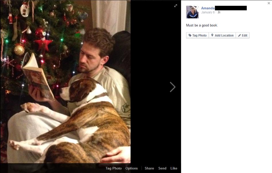 Ollie - Facebook Post with Stewart